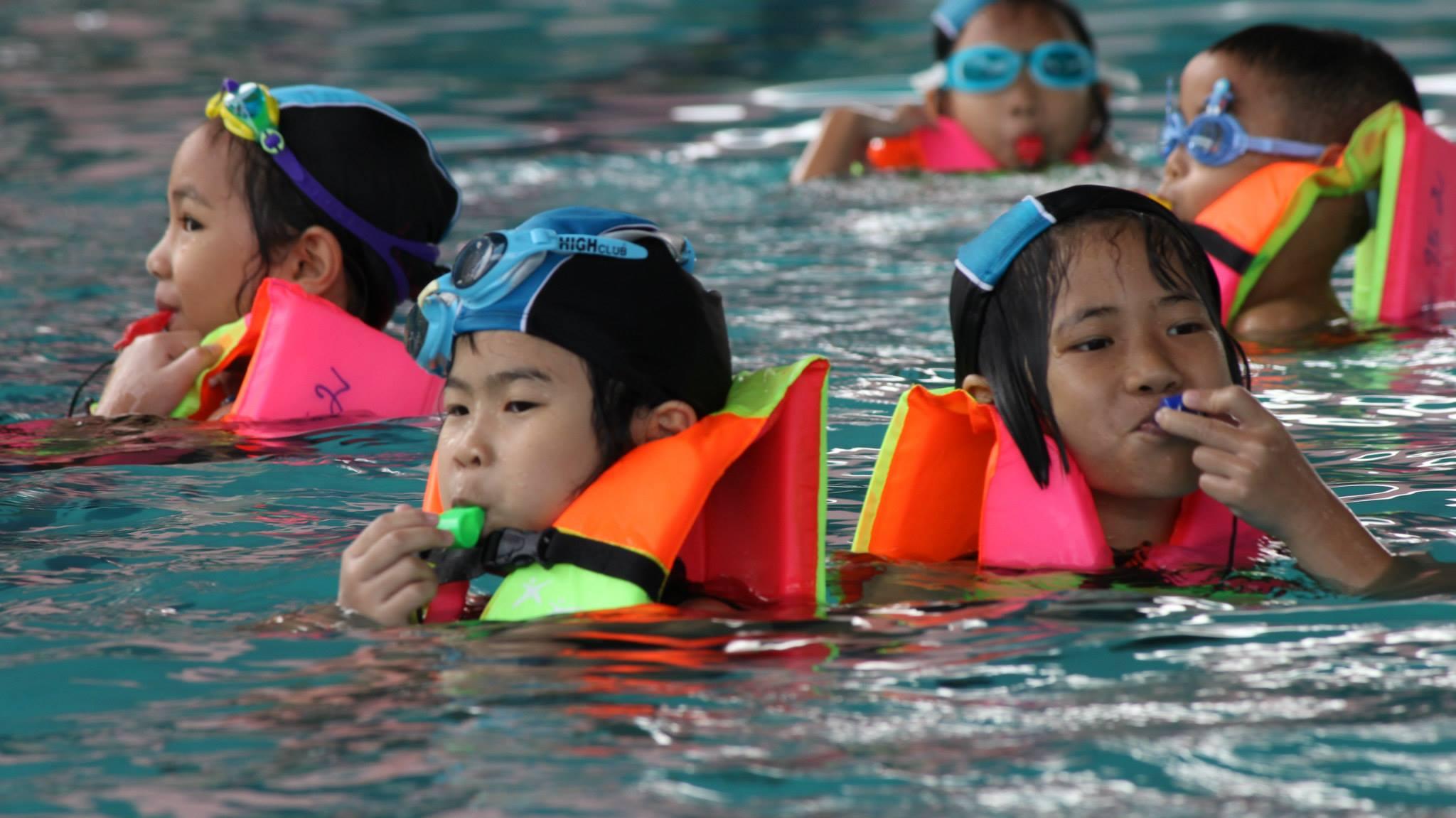 ความปลอดภัยทางน้ำ สำหรับเด็ก