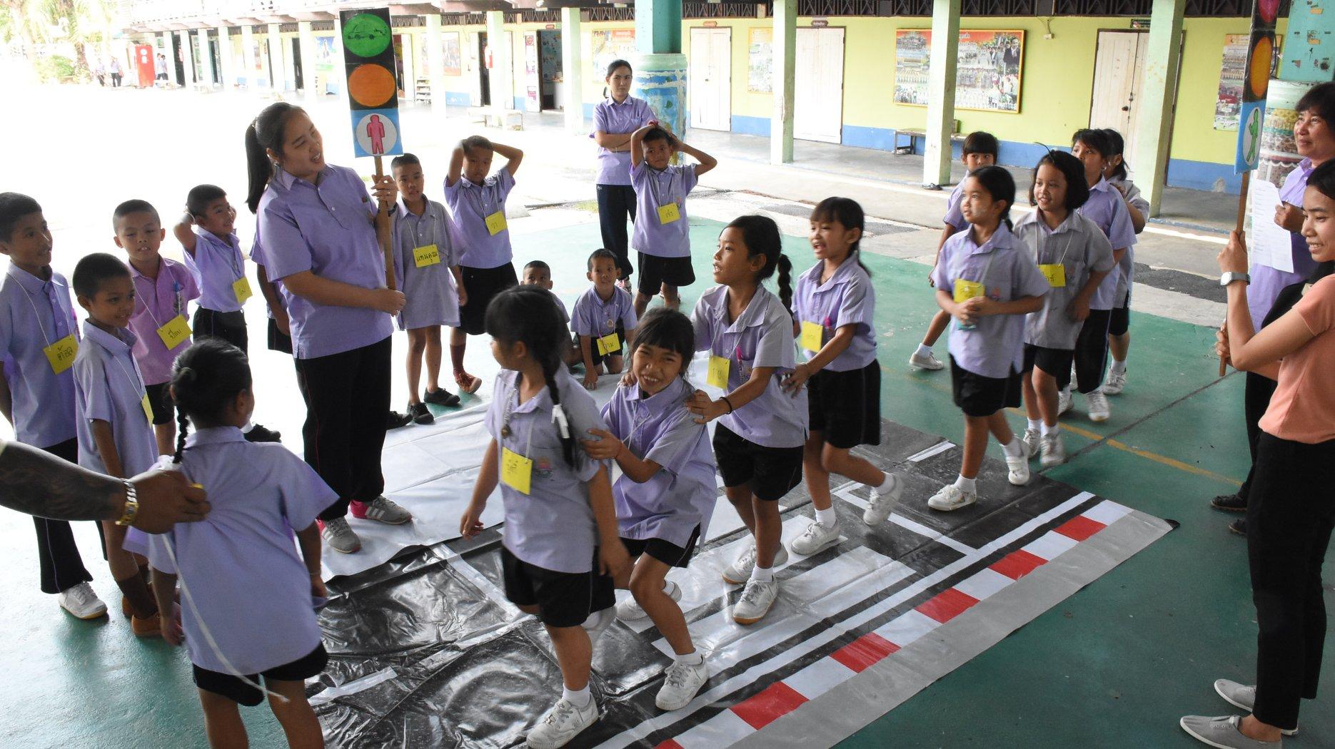 เดินเท้าปลอดภัย สำหรับเด็ก ป.1-ป.3